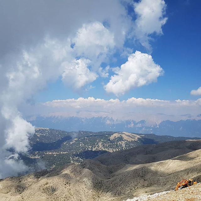 Потрясающий вид с вершины горы #тахталы #кемер #турция #2018 // #tahtali #kemer #turkey