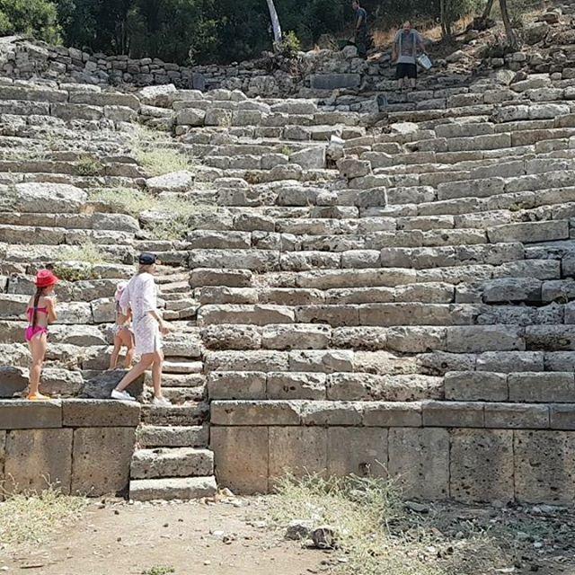 Акустика в амфитеатре никакая, саше македонскому здесь было скучно #фазелис #анталия #турция // #phaselis #antalia #turkey